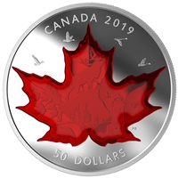2019 Canada $50 Celebrating Canada's Icons Fine Silver (Tax Exempt)