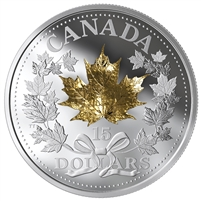 2019 Canada $15 Golden Maple Leaf Fine Silver Coin (No Tax)