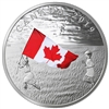 (Pre-Order) 2019 Canada $20 The Canadian Flag Fine Silver (No Tax)