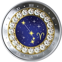 2019 Canada $5 Zodiac Series: Aries Fine Silver (No Tax)