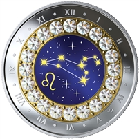2019 Canada $5 Zodiac Series: Leo Fine Silver Coin (No Tax)