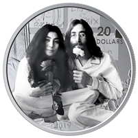 2019 Canada $20 Give Peace A Chance - 50th Anniversary Fine Silver (No Tax)