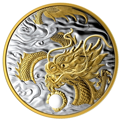 (Pre-Order) 2019 Canada $125 The Benevolent Dragon Fine Silver (No Tax)