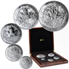 2019 The Canadian Maple Masters Collection Fine Silver 5-Coin Set (No Tax)