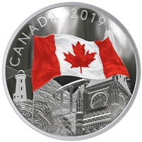 (Pre-Order) 2019 Canada $30 The Fabric of Canada Fine Silver Coin (No Tax)