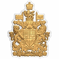 (Pre-Order) 2020 Canada $50 Real Shapes -  The Coat of Arms Fine Silver (No Tax)