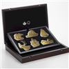 2020 Canada $50 Real Shapes Gold Plated Fine Silver Subscription Set (No Tax)