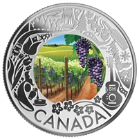 2019 Canada $3 Celebrating Canadian Fun & Festivities - Wine Tasting Silver (No Tax)