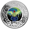 2019 Canada $3 Celebrating Canadian Fun & Festivities - Aurora Borealis Silver (No Tax)