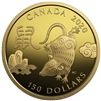 (Pre-Order) 2020 Canada $150 Year of the Rat Gold (TAX Exempt)