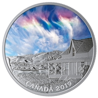 2019 Canada $20 Sky Wonders: Fire Rainbow Fine Silver (No Tax)
