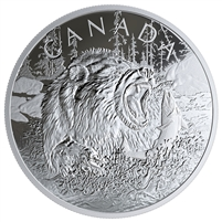 (Pre-Order) 2019 Canada $125 Primal Predators - The Grizzly Fine Silver Coin (No Tax)