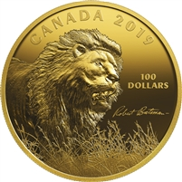 (Pre-Order) 2019 Canada $100 Into the Light - Lion Fine Silver (No Tax)