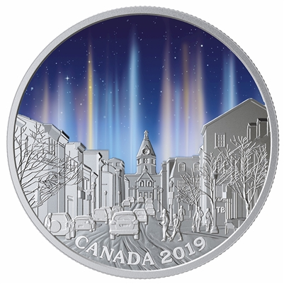 (Pre-Order) 2019 Canada $20 Sky Wonders - Light Pillars Fine Silver (No Tax)