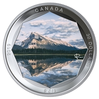 2019 Canada $30 Peter McKinnon Photo Series - Mount Rundle Fine Silver (No Tax)