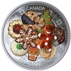 2020 Canada $20 Holiday Cookies Fine Silver Coin (No Tax)