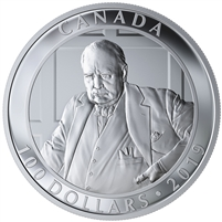 2019 Canada $100 Yousuf Karsh - The Roaring Lion Fine Silver Coin (No Tax)