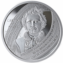 2019 Canada Louis Riel: Father of Manitoba Special Edition Proof Silver Dollar (No Tax)