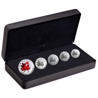 2020 Canada Maple Leaf Fractional O Canada Fine Silver Set (No Tax)