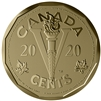 2020 Canada 5-cent The Canadian Home Front: The Victory Nickel Bronze Coin