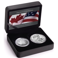 (Pre-Order) 2019 USA & Canada Pride of Two Nations - Limited Edition Two-Coin Set (No Tax)