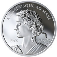2020 Canada $1 Peace Dollar Fine Silver Coin (No Tax)