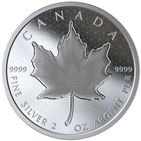 2020 Canada $10 Pulsating Maple Leaf Fine Silver Coin (No Tax)