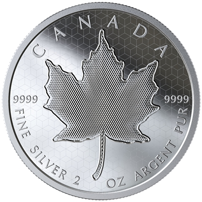 (Pre-Order) 2020 Canada $10 Pulsating Maple Leaf Fine Silver Coin (No Tax)