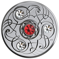 2020 Canada $5 Birthstones: January Fine Silver Coin (No Tax)
