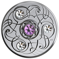 2020 Canada $5 Birthstones: February Fine Silver (No Tax)