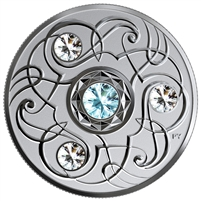 2020 Canada $5 Birthstones: March Fine Silver Coin (No Tax)