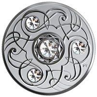 (Pre-Order) 2020 Canada $5 Birthstones - April Fine Silver (No Tax)