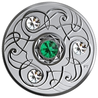 2020 Canada $5 Birthstones: May Fine Silver Coin (No Tax)