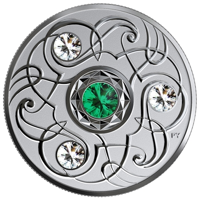 2020 Canada $5 Birthstones: May Fine Silver Coin