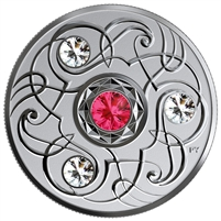 2020 Canada $5 Birthstones - July Fine Silver (No Tax)