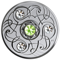 2020 Canada $5 Birthstones - August Fine Silver (No Tax)