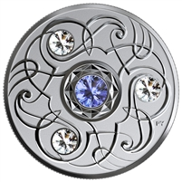 2020 Canada $5 Birthstones - September Fine Silver (No Tax)