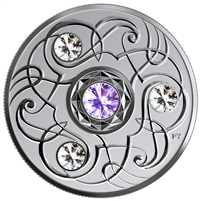2020 $5 December Birthstone Fine Silver