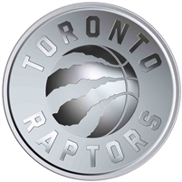 2020 Canada 25-cent Toronto Raptors 25th Season Coin