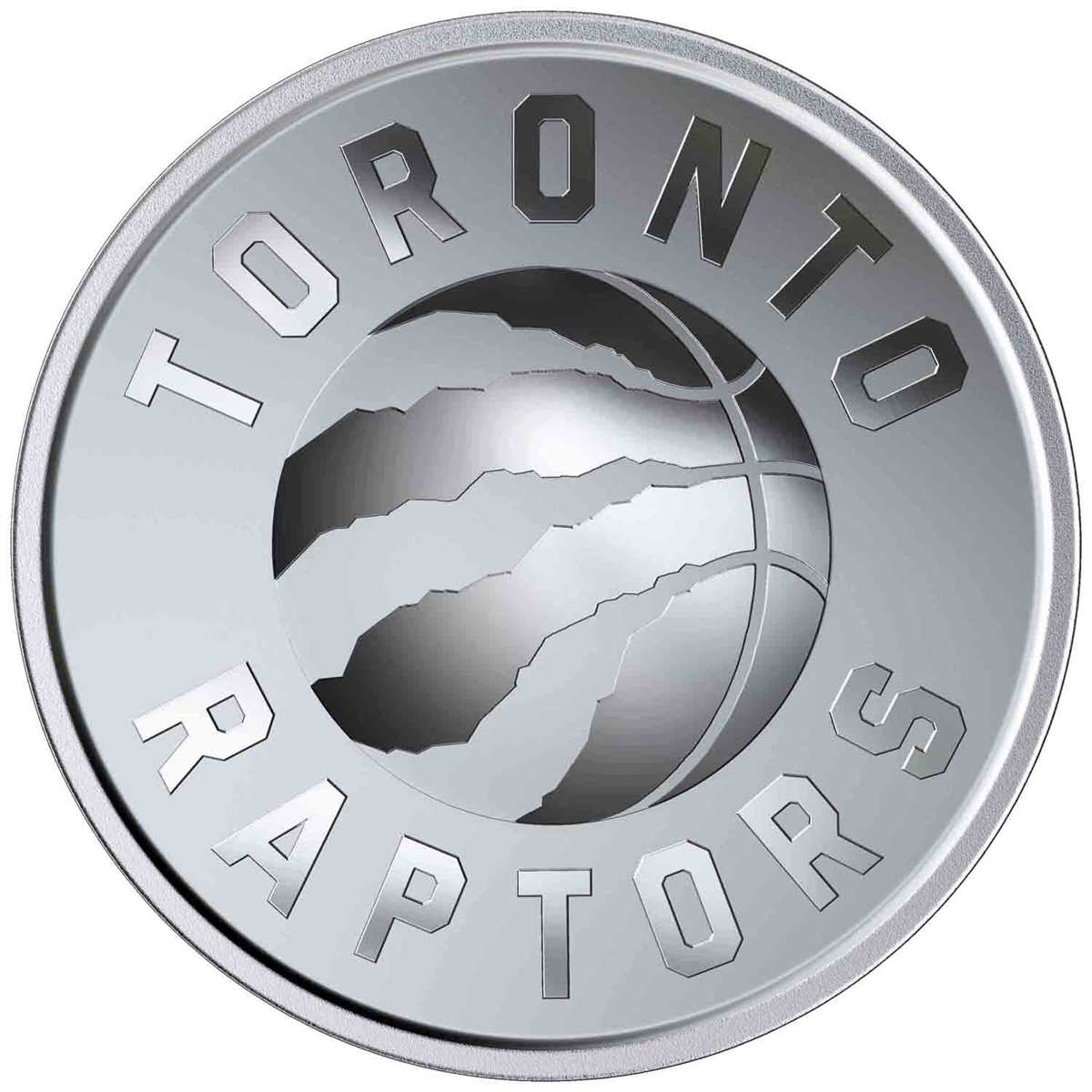 2020 25 CENT COIN TORONTO RAPTORS 25TH SEASON ROYAL CANADIAN MINT