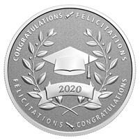(Pre-Order) 2020 Canada $10 Congratulations on Your Graduation! Fine Silver (No Tax)