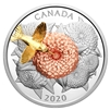 2020 Canada $50 The Hummingbird and the Bloom Fine Silver Coin (TAX Exempt)