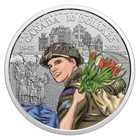 2020 $10 75th Anniversary of the Liberation of the Netherlands - Canadian Army (No Tax)