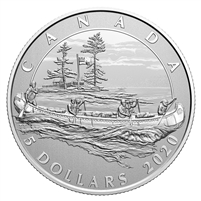 2020 Canada $5 Moments to Hold - The 350th Anniversary of HBC Silver (No Tax)