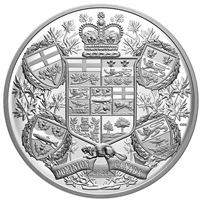 2020 Canada $250 Reimagined 1905 Arms of Dominion of Canada Fine Silver (TAX Exempt)