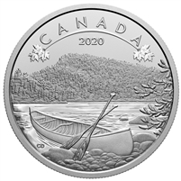 2020 $10 O Canada! The Great Outdoors Fine Silver Coin