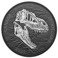 2021 $20 Discovering Dinosaurs: Reaper of Death Fine Silver Coin