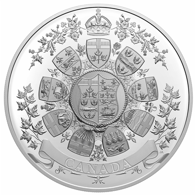 2021 Canada $250 Archival Treasures: 1912 Heraldic Design Fine Silver (No Tax)
