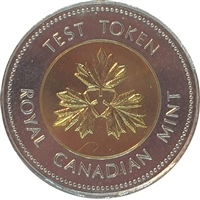 1996 Canada (No Date) Test Token 200.3 Two Dollar Proof Like