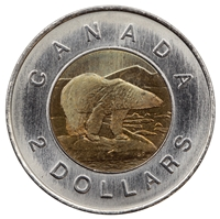 1997 Canada Two Dollar Brilliant Uncirculated (MS-63)